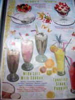 Диссерты и молочные шейки