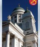Сувенирный магнит на холодильник: Финляндия. Кафедральный собор (Хельсинки)