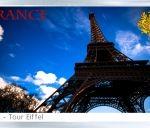 Магнит на холодильник: Франция. Эйфелева башня