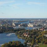 Вид с башни Kaknastornet