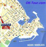 Агиос Николас карта