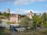 село Буки - вид на поместье Суслова