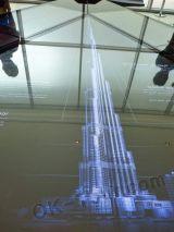 макет Бурдж-Халифа в Дубай-молле (ОАЭ)