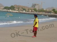 jal fudjairah hotel - спасатель на пляже