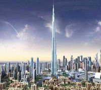 Бурж Халифа в Дубае (ОАЭ)