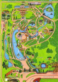 схема/план парка Софиевка в Умани