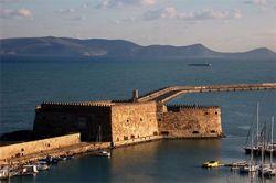 бастион Кулес в Ираклионе (Крит, Греция)