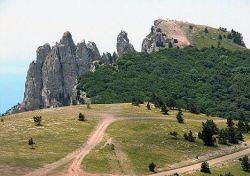 плато на горе Ай-Петри