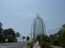 Бурдж-аль-Араб (отель Парус) в Дубае, ОАЭ