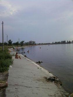 озеро Репное - берег