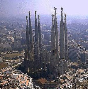 Собор Святого семейства в Барселоне (Гауди, Sagrada Familia)