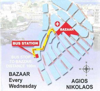 Агиос Николаос базар