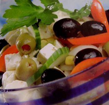 еда на Крите