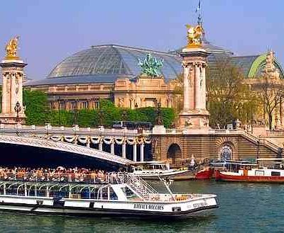 прогулка на корабле по Сене - boat-tour-of-the-seine-river