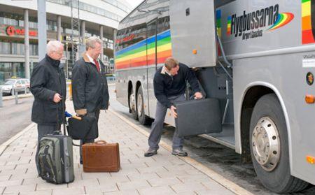 автобус flygbussarna - airport coach
