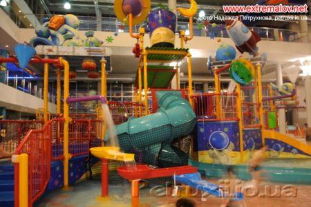 атракционы для детей в аквапарке Броваров
