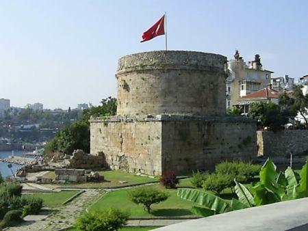 башня Хыдырлык Кулеси (Анталья, Турция)