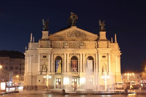 Национальный театр оперы и балета им. Соломии Крушельницкой