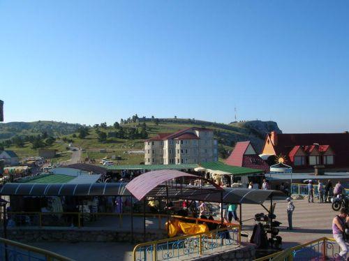 магазины на вершине Ай-Петри