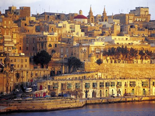 город Валетта (Мальта)