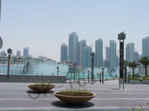 поющие фонтаны Дубая (ОАЭ)