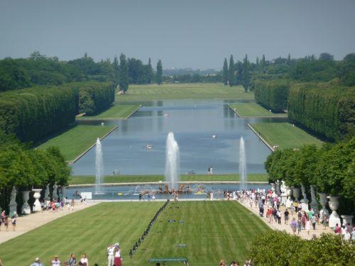 версальский парк - большой канал