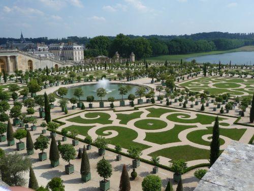 версальские сады - оранжереи