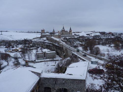 Старый замок в Каменец-Подольском
