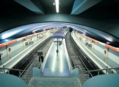 метро Барселоны (Испания)