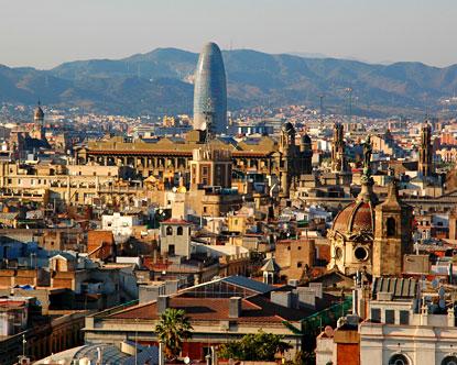 осмотр достопримечательностей Барселоны